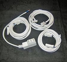 3-Fach AMP Steckerleiste z.B. LED Clip/Halogenstrahler/Vitrinenbeleuchtung 12V