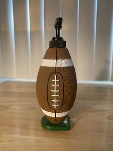 Hand-Painted Football Soap Pump