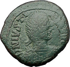 JUSTINIAN I the GREAT 527AD Follis of Carthage Ancient Byzantine Coin i55527