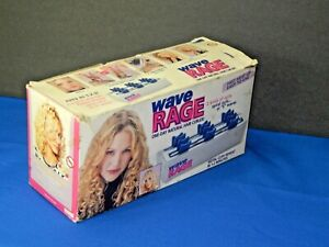 Vintage Wave Rage DC300 Hair Curler (New) Hot Rollers SPIRAL CURLS WAVES PAGEANT