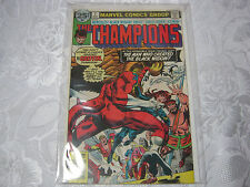 THE CHAMPIONS NO.7 AUG  VINTAGE MARVEL  COMIC   T*