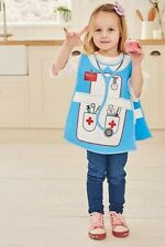 Childrens Kids WIpe Clean PVC Aprons and Tabards, Chef Apron, Playtime Craft