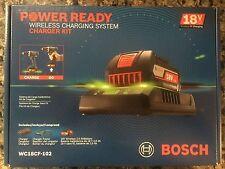 Bosch 18V 2.0 Ah Li-Ion Wireless Charging Battery Kit w/ Frame WC18CF-102 New