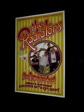 Original 2007 THE RADIATORS San Francisco Signed By Artist Randy Tuten