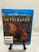 Skyscraper Blu-ray DVD Digital Code  Dwayne Johnson The Rock  universal pictures