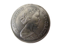 Royaume-Uni Elizabeth II Tête Jeune 1953 Couronne