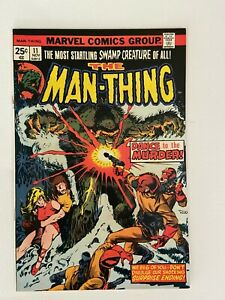 Man-Thing (1974) #11 in Very Fine + condition. Marvel Mike Ploog Art!!