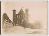 Madagascar, Tananarive, Palais de la Reine, entrée nord  Vintage citrate print.