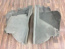 VW CORRADO REAR TURRET ARCH CARPET GREY PAIR G60 16V VR6