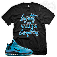 LOYALTYSneaker T Shirt to Match Lebron 7 All Star Chlorine Blue UNC