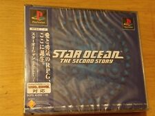 STAR OCEAN SECOND STORY JAPANESE NTSC-J VERSION (PS1) BRAND NEW & FACTORY SEALED