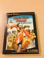 Hong Kong Phooey - The Complete Series Hanna-Barbera TV DVD Sealed New OOP