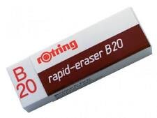 Rotring Rapid-Eraser B20 - S0194570 - Brand New German Made Eraser; Clean Erase