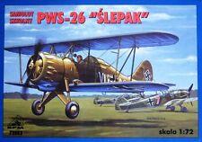 "PWS 26 ""Blinder"" (rumeno, SOVIETICA & LUFTWAFFE MARCATURE) 1/72 giri/min (PZL)"