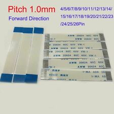 2pcs FFC/FPC Flexible Cable Forward Direction 4P-26P AWM VW-1 20624 Pitch 1.0mm