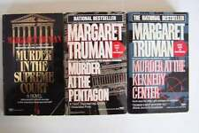 Margaret Truman Capital Crimes Murder Mystery Series Lot #4