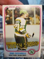 1981/82 OPC O-Pee-Chee Dino Ciccarelli RC Rookie Card #161 EX-NMT! See Photos