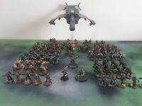 warhammer 40k astra militarum army well painted Catachan and Cadians OOP