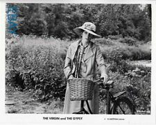Joanna Shimkus w/a bicycle The Virgin and the Gypsy VINTAGE Photo
