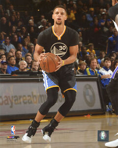 STEPHEN CURRY 2015-2016 GOLDEN STATE WARRIORS 8X10 ACTION PHOTO #2