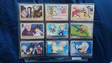 9 Cartes DRAGON BALL Z DBZ COLLECTION Trading Card Série 3 Panini Fr lot *42
