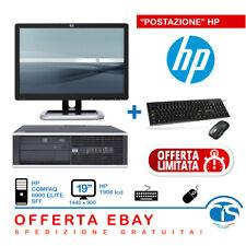 HP CONFIGURAZIONE PC MONITOR 19 COMPUTER ECONOMICO UFFICIO AGENZIA CALL CENTER