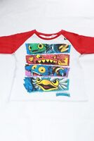 Boys Skylanders T-Shirt Clothing Official Top Tee Kids Toddler Age 2-4 New