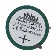Bateria 290mAh Li-Po (2pins) para Garmin Forerunner 405, 405CX, 410, 410CX