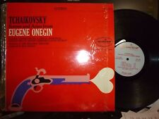 "TCHAIKOVSKY ""Scenes And Arias From EUGENE ONEGIN"" LP Shrink NM/NM, VISHNEVSKAYA"