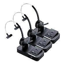 Jabra Pro9450 Mono Flex Stereo Wireless Headset (3 Pack) w/ PeakStop Technology