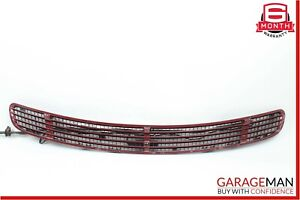00-06 Mercedes W215 CL500 Front Hood Vent Grille Grill Trim Panel Red OEM