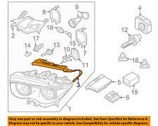 BMW OEM Headlight Head Light Lamp-Headlamp Assembly Gasket Right 63117162086