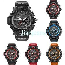 SMAEL Digital LED Waterproof Sport Watch S-SHOCK Army Military Men's Wristwatch