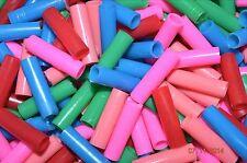25 Jumbo Straw Tube Beads Bird Parrot Toy Parts Crafts