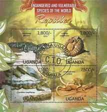 Timbres Reptiles Ouganda 2522/5 o année 2013 lot 13342 - cote : 20 €