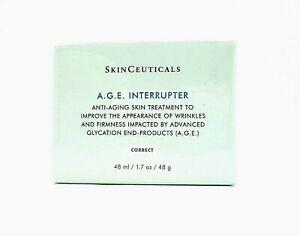 SkinCeuticals A.G.E. Interrupter Anti Aging Skin Treatment 1.7 oz / 48 ml ~ BNIB