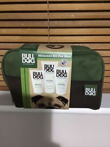 Bull Dog Skincare Kit For Men Moisturiser Face Wash & Scrub NEW