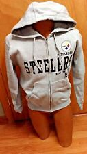 NFL PITTSBURGH STEELERS ZIP UP HOODED SWEAT SHIRT MENS SIZE SMALL BRAND NEW NWOT