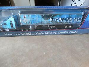 2017 1:64 Scale Die-cast J.J.Keller Western star 5700X w/ Wabash National DuraPl