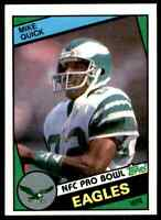 1984 Topps #333 Mike Quick ROOKIE Philadelphia Eagles / NC State