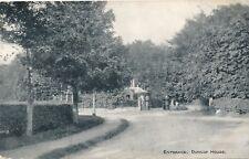 Dunlop – Dunlop House Entrance – Scotland - 1908