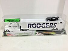 Racing Champions Fast & Furious Rodgers 1995 Honda Civic, Transporter FREE ship!