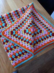 Hand Crochet Blanket Vintage
