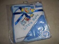 Blue Little Bear Hooded Towel w/ Washcloth Set   Cotton  Kid's Bathroom   New