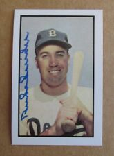 2001 Bowman Chrome Rookie Reprints #8 Duke Snider Brooklyn Dodgers Baseball Card