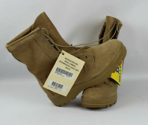 New GI Genuine Army Military Desert Sand Winter Weather ICWB Boots, 10.5W