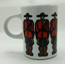 Marc Tetro Danesco Canada Coffee Mug Cup Royal Canadian Mounted Mounties Police