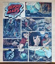 Beyond Mars by Jack Williamson - scarce full tab Sunday comic page Oct. 19, 1952