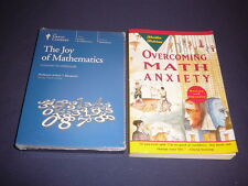 Teaching Co Great Courses DVDs     THE JOY OF MATHEMATICS         new + BONUS