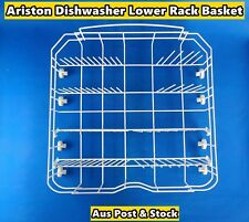 Ariston Dishwasher Spare Parts Lower Rack Basket Replacement (White) (S260) Used